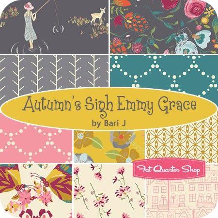 Autumn's Sigh Emmy Grace Fat Quarter BundleBari J for Art Gallery Fabrics - Fat Quarter Bundles   Fat Quarter Shop