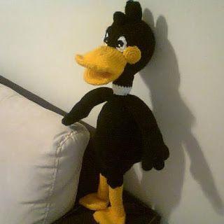 Amigurumi Daffy Duck : NOVEDADES JENPOALI: PATRON PATO LUCAS AMIGURUMI (LOONEY ...