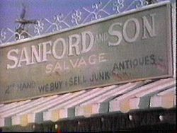 Sanford and Son is an American sitcom, based on the BBCs Steptoe and Son, that ran on the NBC television network from January 14, 1972, to March 25, 1977. In 2007, Time magazine included the show on their list of the 100 Best TV Shows of All Time.