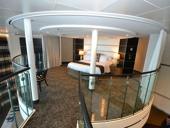Living Large New Cruise Ship 39 S Swanky Mega Suites Royals Floors And Cruises