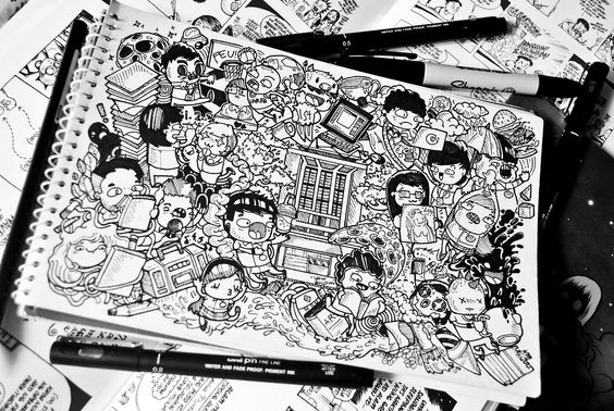 DOODLE art=circle of awesomeness: Photo