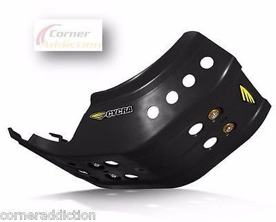 Cycra Full Armor Skid Plate BLACK for KTM 450SXF & Factory Edition