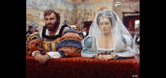 Elizabeth Taylor Richard Burton Funeral | Elizabeth Taylor et Richard Burton dans La Mégère apprivoisée de ...
