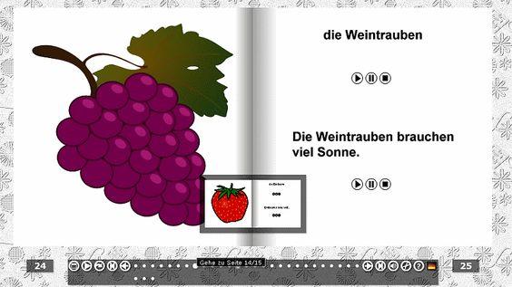 Obst und Gemüse – für Anfänger   Фрукты и овощи - слушать и повторять