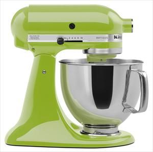 Saving up for this mixer. It'll look so good in our kitchen when it's green!