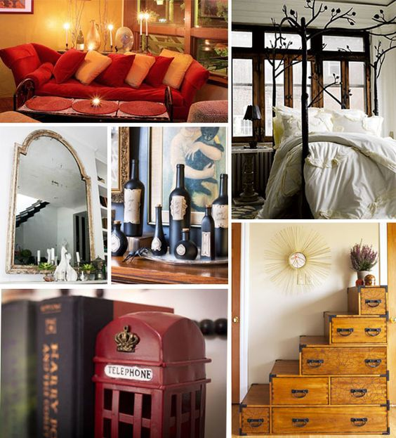 How Would Harry Potter Decorate His Home? (http://blog.hgtv.com/design/2014/07/10/harry-potter-decor/?soc=pinterest)