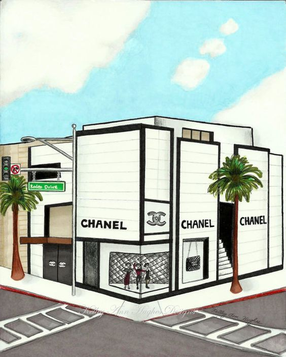 the gallery for gt chanel storefront