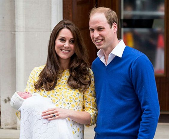 First pictures.  Dutchess Kate has delivered 8 pounds and 3 ounces.  Gave birth 2 and a half hours after arriving at the St Marys Lindo Wing.