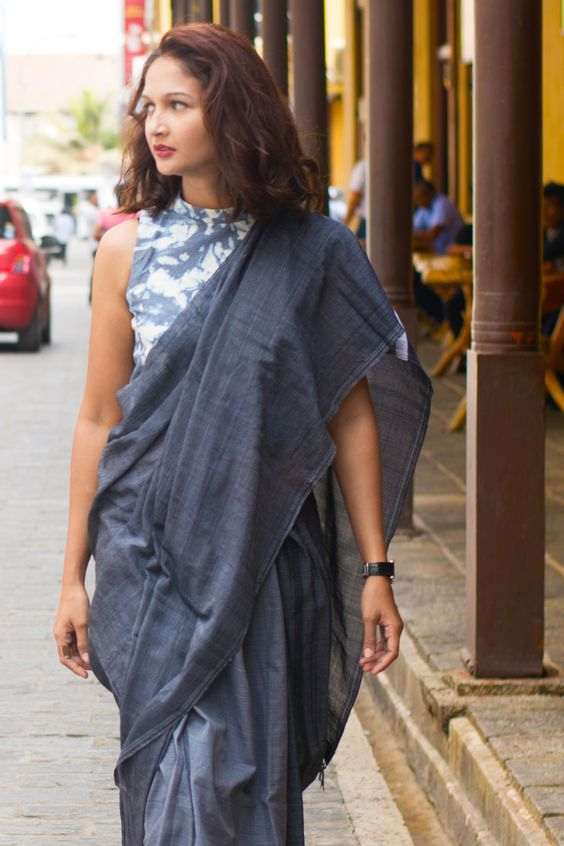 Jeans Saree-Immediate Shipping -Order Now – Fashion Market: