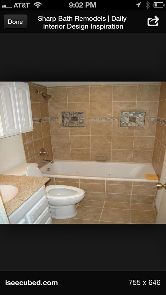 Small bathroom | Small bathroom remodel ideas. I'd love to have any ...