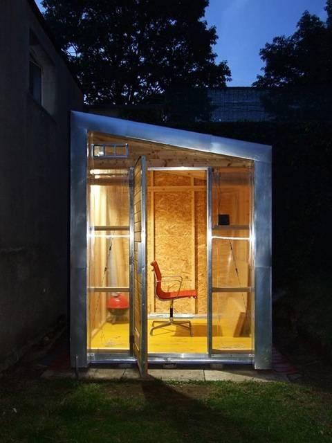 Casetta Studio In Giardino Costruita Con Il Fai Da Te