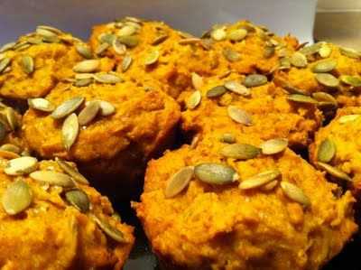 Pumpkin Spice Muffins - These are easily my favourite breakfast muffin!