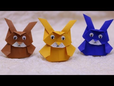How to make an origami Leia (Tadashi Mori) - YouTube | 360x480