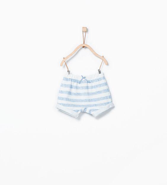 ZARA - MINI - Striped shorts