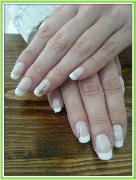 Shellac CND French Manicure