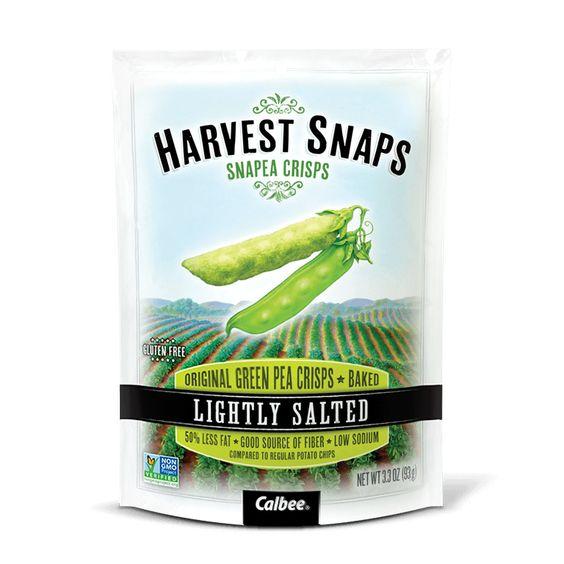 Snapea Crisps Lightly Salted Snacks ~ Harvest Snaps