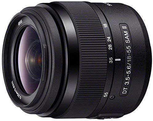 Sony Sal 1855 3 A Mount Objektiv Dt 18 55mm F3 5 5 6 Sam Ii Schwarz Zoom Lens Camera Photography Sony Digital Camera
