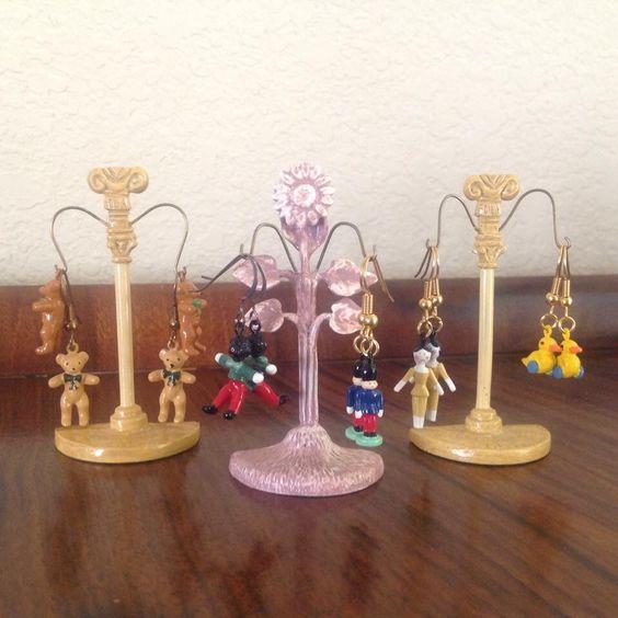 Hantel earrings