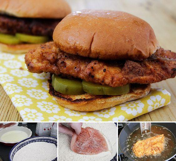 copycat recipe of the famous chic-fil-a sandwich.