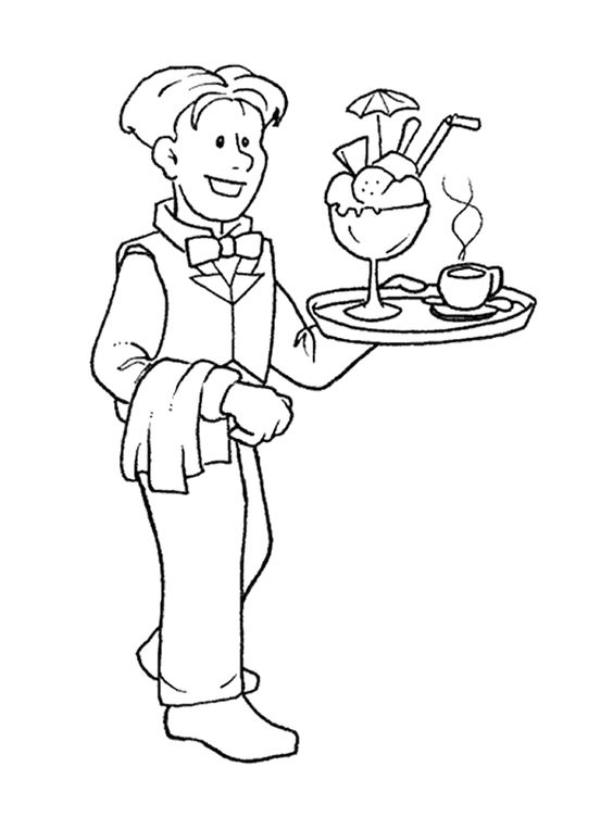 coloring pages occupations | Occupations - 999 Coloring Pages | επαγγελματα | Pinterest ...