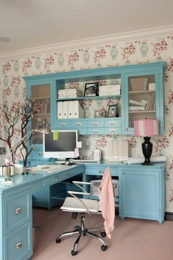 how to make home office look pretty - Google Search