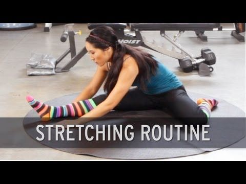 15JUN13 Stretching Routine.  This was awesome!  Sometimes you just need to take some time and feel a good stretch after a week of workouts!