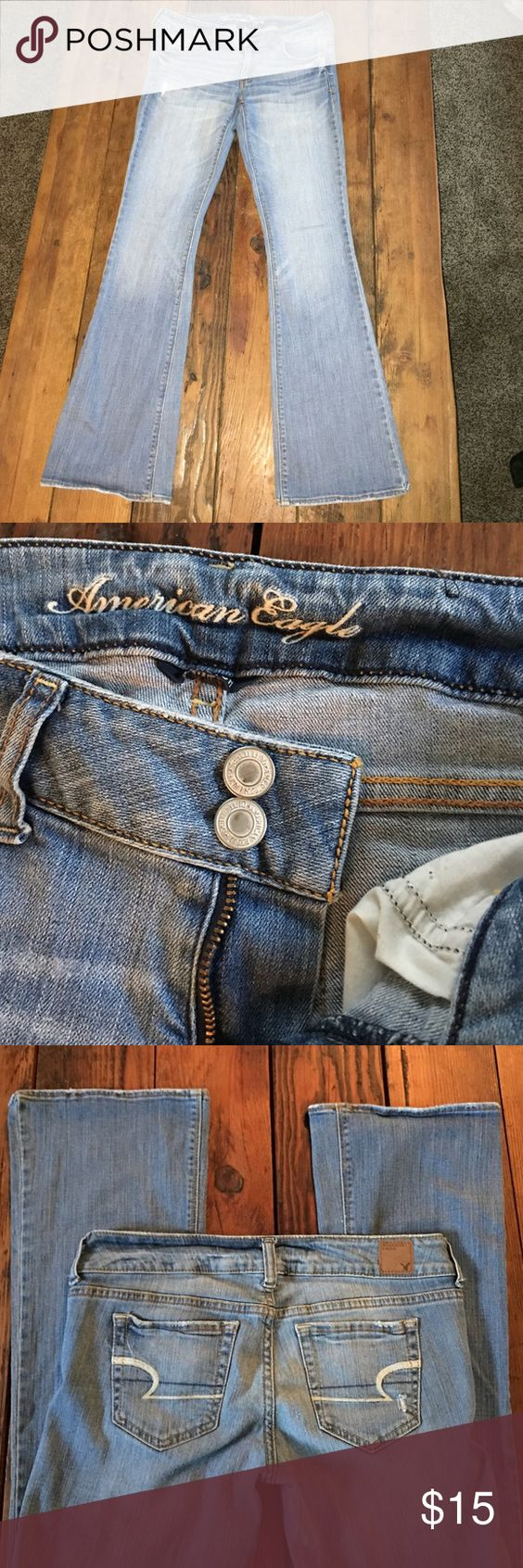American Eagle Jeans Size 6 Regular jeans!! One of my favorite pair! Super comfy and cute. American Eagle Outfitters Jeans Boot Cut