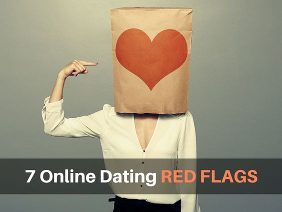 online dating flags