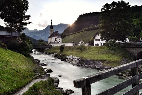 Ramsau by sunset by Farkas Csaba  on 500px