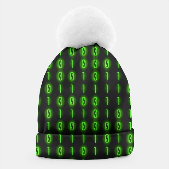 Binary Code Pattern Gorro