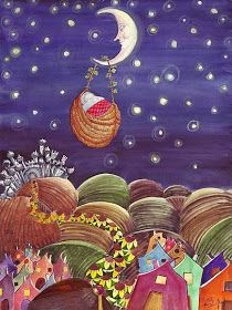 Pinzellades al món: Il·lustracions a la llum de la lluna / Ilustraciones a la luz de la luna / Illustrations in the light of the moon