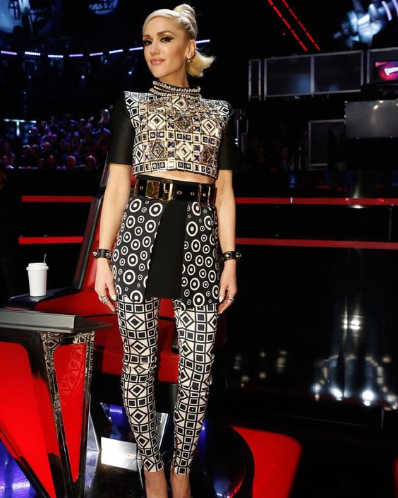 #GetTheLook last night's #VoiceResults ⚡️⚡️ gx http://www.gwenstefani.com