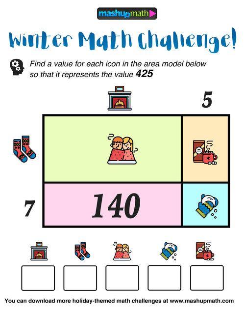 Free Math Puzzles Mashup Math Maths Puzzles Free Math Math