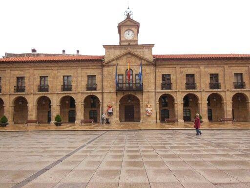 Ayuntamiento de #Aviles en #Asturias (#España)