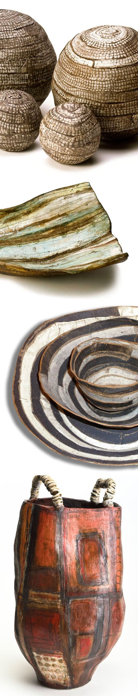 """Brenda Holzke is """"a commercial ceramic product designer trapped in a fine artists soul""""."""