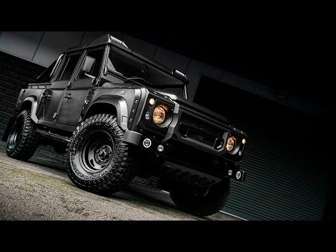Land Rover Defender 110 Pickup By Chelsea Truck Company Youtube En 2020 Coches Carritos