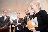 QMILK hat den GreenTec Award 2015 gewonnen! #Nachhaltigkeit #Auszeichnung #Milchfaser