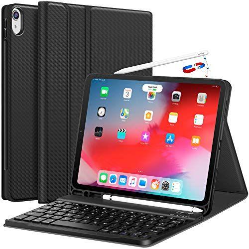 Earto Tastatur Hulle 11 Zoll Fur Apple Ipad Pro Neu 11 Zoll Abnehmbare Kabellose Keyboard Ultra Dunne Pu Leder Case In 2020 Bluetooth Tastatur Ipad Pro 12 Tastatur