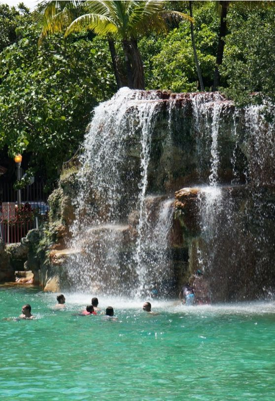 The Venetian Pool in Coral Gables, Florida