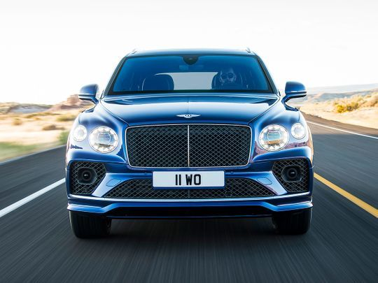 2021 Bentley Bentayga Speed Is Still The Fastest Suv In The World 1 Of 9 Bentley Motors Has Revealed Images And Full Travel Duba Bentley Bentley Motors Suv