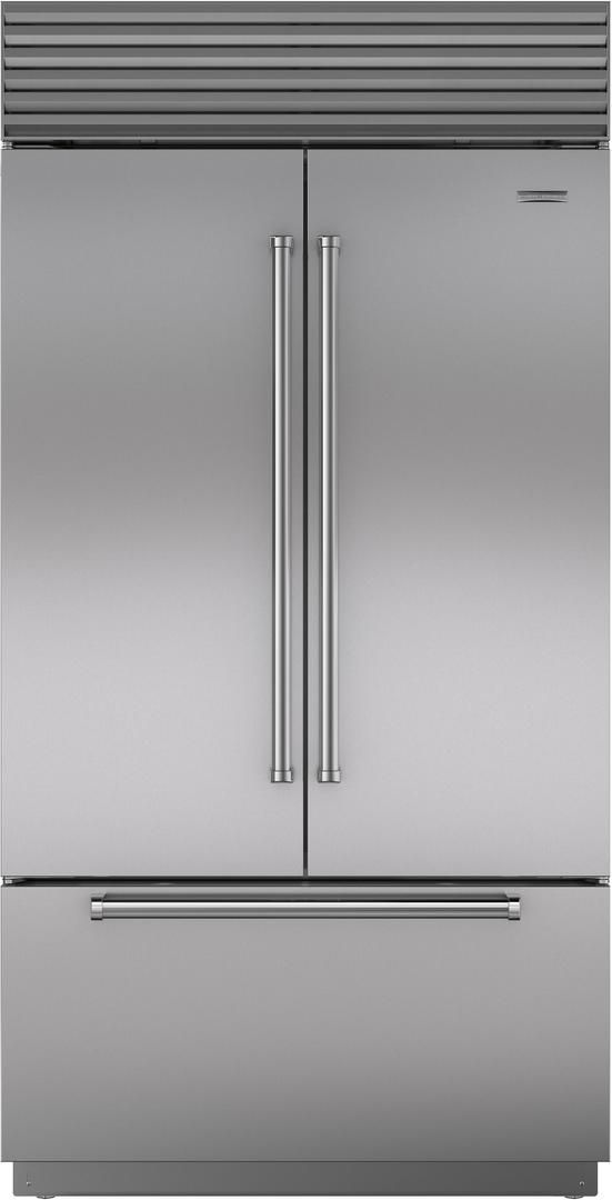 Sub Zero Bi 42ufdid S Th 42 Classic French Door Refrigerator Freezer With Internal Dispenser French Door Refrigerator Built In Refrigerator French Doors