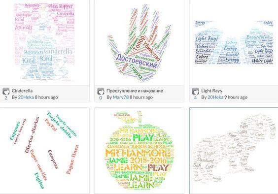 Tagul. Créer des nuages de mots interactifs