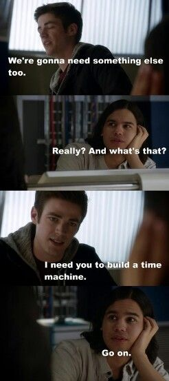 "#TheFlash 1x23 ""Fast Enough"" - Barry and Cisco"
