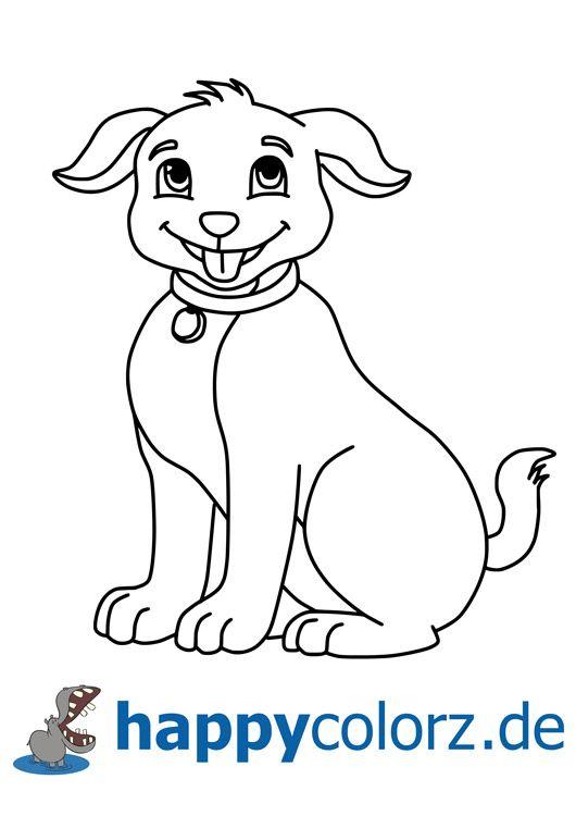 Malvorlage Lachender Hund Ausmalbilder Hunde Ausmalbilder Ausmalen