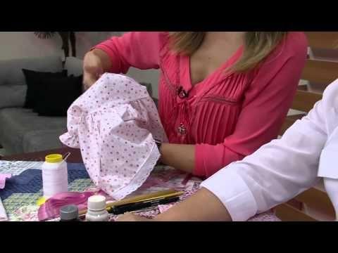 Mulher.com 02/10/2014 - Boneca Tati Decorativa por Claudete Messias - Parte 2 - YouTube