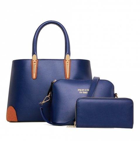 Ladies Handbag Pu Single Shoulder Bag European And American Fashion