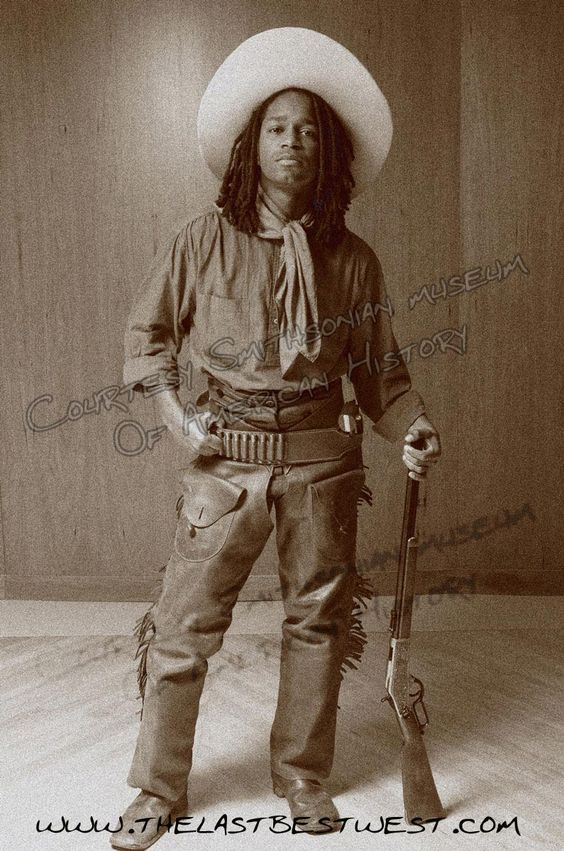 african american cowboys of the old west   Longfellow the Author of The Last Best West.