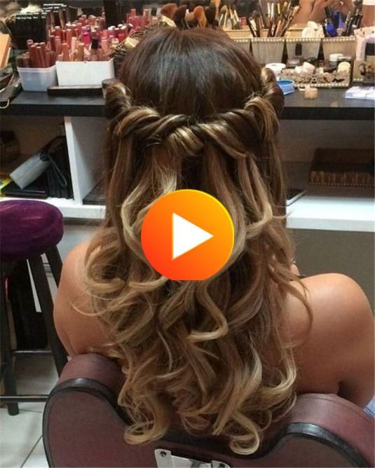 The Curl Hairstyles For Large Wedding Hairstyles Your New Site Curl Hairstyles Large Site Wedding In 2020 Curled Hairstyles Hair Styles Long Hair Styles