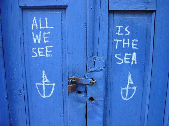 I love this message. Perfect for a Vancouver door.
