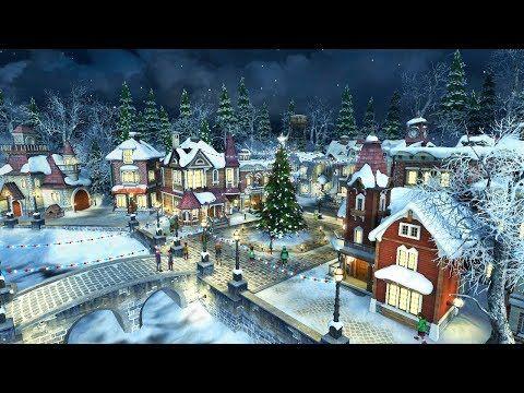Snow Village 3d Screensaver Live Wallpaper Hd Youtube Animated Christmas Wallpaper Snow Village Live Wallpapers Christmas wallpaper windows 10